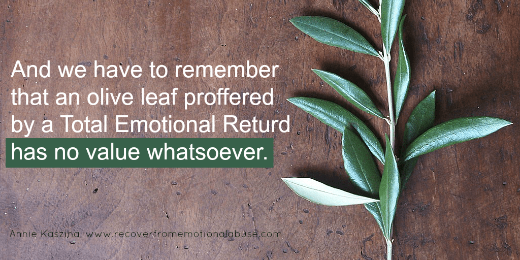 The Olive Leaf Stopping You Recover From Emotional Abuse
